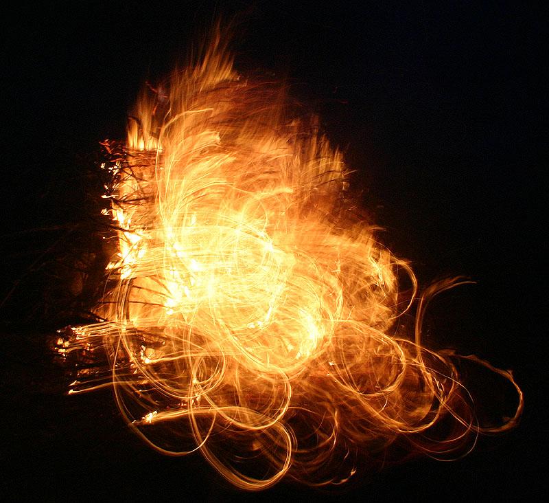 Si tu rencontres le feu